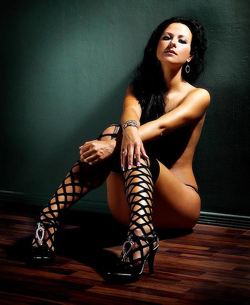 Sexy erotisches Fotoaufnahmen